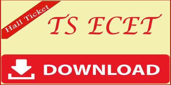 Telangana ECET Hall Ticket
