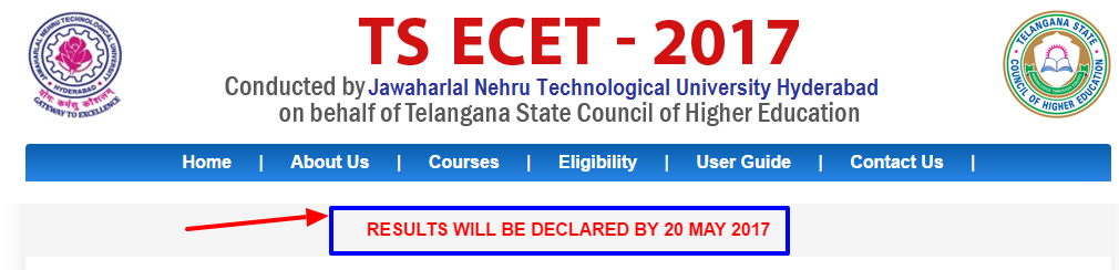 TS ECET 2017 Result Date